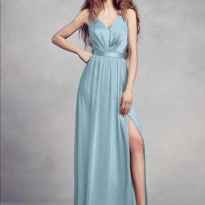 Charmeuse/ Chiffon Bridesmaid Dress by Vera Wang